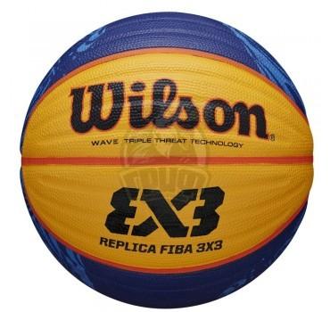 Мяч баскетбольный для стритбола тренировочный Wilson FIBA 3X3 Replica Indoor/Outdoor №6