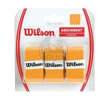 Обмотка для теннисной ракетки Wilson Pro Soft Overgrip (золотой)