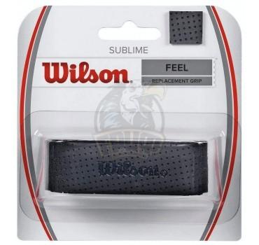 Обмотка базовая для теннисной ракетки Wilson Sublime (черный)