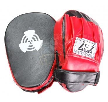 Лапа боксерская изогнутая ZEZ кожа