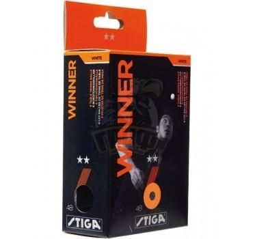 Мячи для настольного тенниса Stiga Winner 2* (оранжевый)
