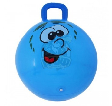 Мяч-попрыгун детский c ручкой 45 см