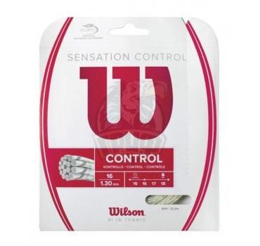 Струна теннисная Wilson Sensation Control 1.30/12.2 м (натуральный)