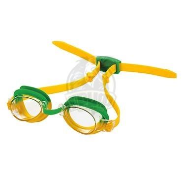 Очки для плавания подростковые Fashy Top Junior (желтый/зеленый)