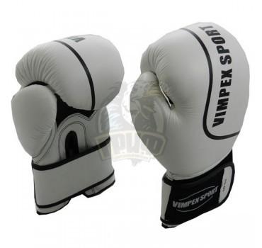 Перчатки боксерские Vimpex Sport 1040 кожа