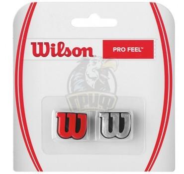Виброгаситель Wilson Profeel x2 (красный/серебро)