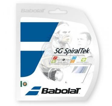 Струна теннисная Babolat SG Spiraltek 1.30/12 м (черный)