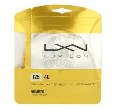 Струна теннисная Luxilon 4G 1.25/12.2 м (золотой)