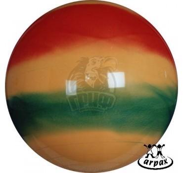 Мяч гимнастический (фитбол) Arpax 75 см с системой антивзрыв (радужный)