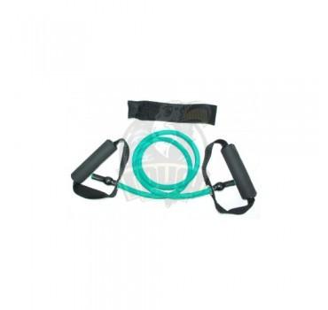 Эспандер-трубка для гимнастики с ручками 15LB