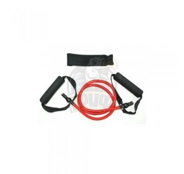 Эспандер-трубка для гимнастики с ручками 30LB