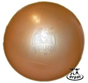 Мяч гимнастический (фитбол) Arpax 75 см с системой антивзрыв (золотистый)