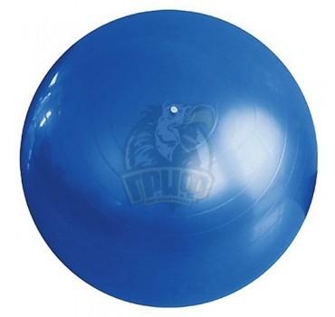 Мяч гимнастический (фитбол) Fora 85 см с системой антивзрыв + насос  (синий)
