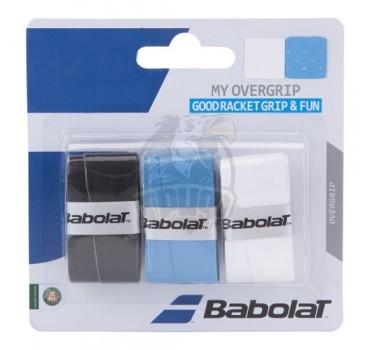 Обмотка для теннисной ракетки Babolat My Overgrip (ассорти)