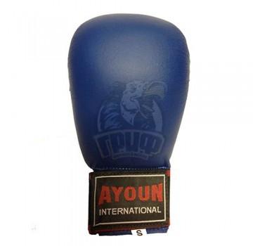 Перчатки каратэ Ayoun ПВХ (синие)