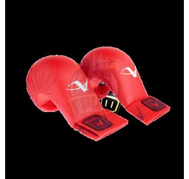 Перчатки (накладки) каратэ Arawaza (красные)