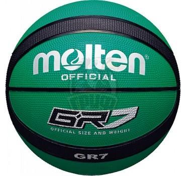 Мяч баскетбольный любительский Molten BGR7-GK Indoor/Outdoor №7
