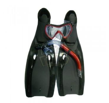 Набор для плавания взрослый Jilong (ласты + маска + трубка)