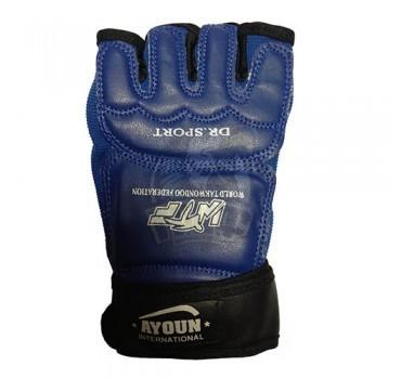 Перчатки таэквондо Ayoun ПВХ (синий)