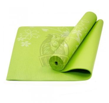 Коврик гимнастический для йоги Starfit (зеленый)