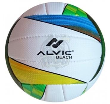 Мяч для пляжного волейбола любительский Alvic Beach (желтый/синий)