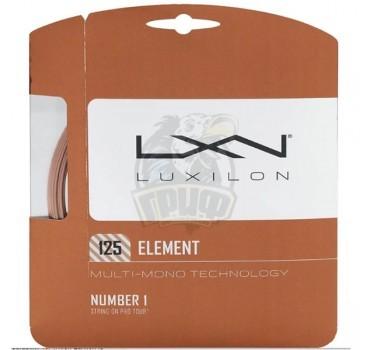 Струна теннисная Luxilon Element 1.25/12.2 м (бронзовый)