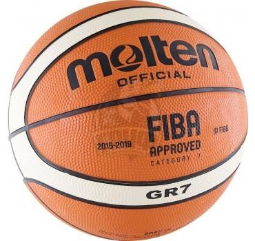 Мяч баскетбольный любительский Molten BGR7-OI Indoor/Outdoor №7
