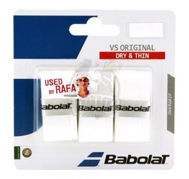 Обмотка для теннисной ракетки Babolat VS Grip Original (белый)