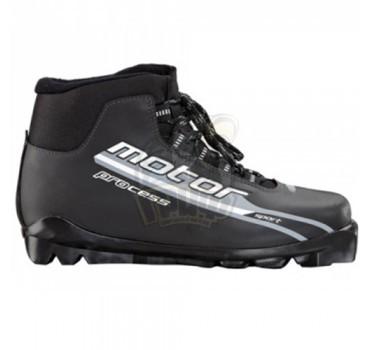 Ботинки лыжные Motor Process SNS (черный/серый)