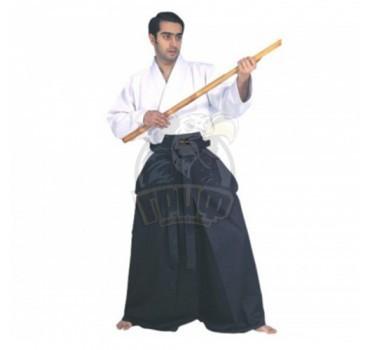 Кимоно айкидо (хакама) Vimpex Sport Hayabusa 10 унций (100% Хлопок)