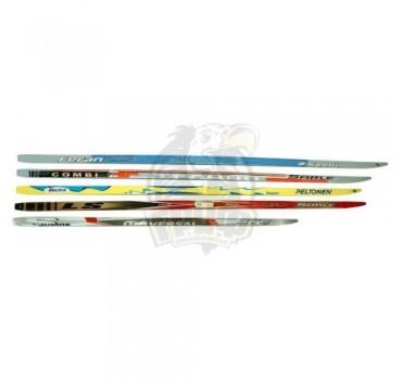 Лыжи беговые подростковые STC Galaxy Junior с насечкой
