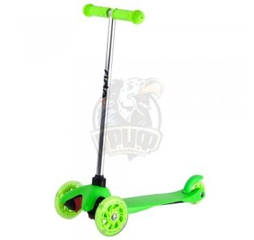 Самокат 3-х колесный Ridex 3D Kinder (зеленый)