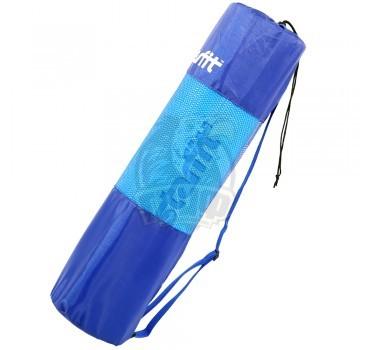 Чехол для коврика для йоги полусетчатый Starfit (синий)