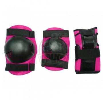 Комплект защиты роллера Vimpex Sport (розовый)