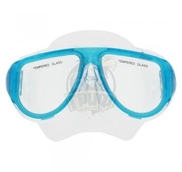 Маска для плавания подростковая Fora (голубой)