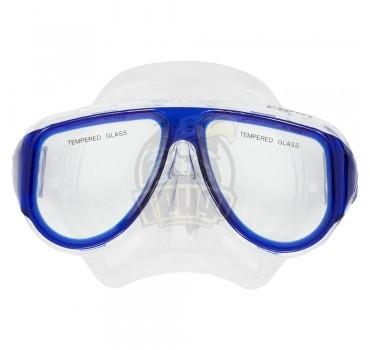 Маска для плавания подростковая Fora (синий)