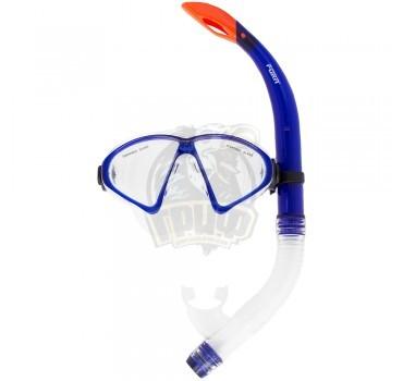 Набор для плавания взрослый Fora (синий)