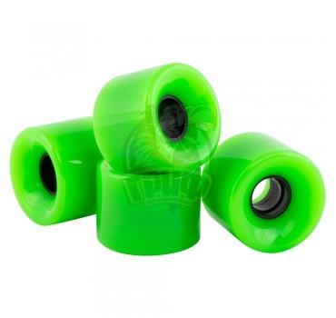 Колеса к круизеру Fish (зеленый)