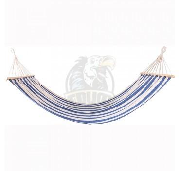 Гамак тканевый Fora (белый/синий)