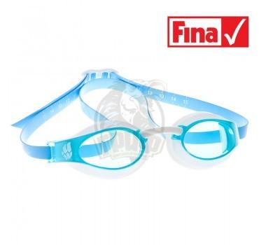Очки для плавания стартовые Mad Wave X-Look (голубой)