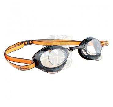 Очки для плавания стартовые Mad Wave Turbo Racer II (черный)