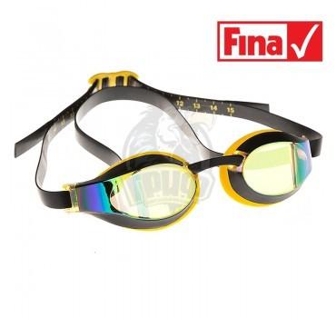 Очки для плавания стартовые Mad Wave X-Look Rainbow (желтый)