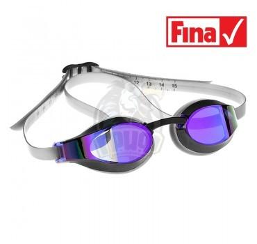 Очки для плавания стартовые Mad Wave X-Look Rainbow (фиолетовый)