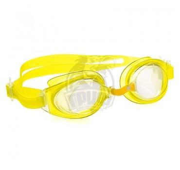 Очки для плавания юниорские Mad Wave Simpler II Junior (желтый)
