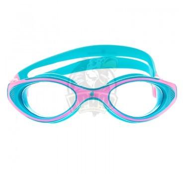 Очки для плавания юниорские Mad Wave Automatic Junior Flame (розовый)