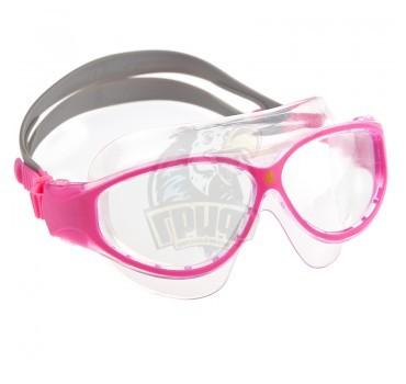 Очки-маска для плавания юниорские Mad Wave Flame Mask Junior (розовый)