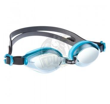 Очки для плавания юниорские Mad Wave Aqua Mirror Junior (голубой)