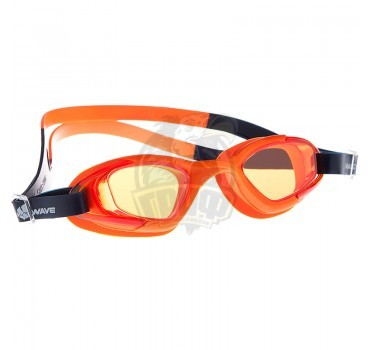 Очки для плавания юниорские Mad Wave Aqua Micra Multi II Junior (оранжевый)