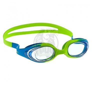 Очки для плавания детские Mad Wave Stretchy Kids (голубой)