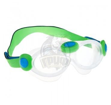 Очки-маска для плавания детские Mad Wave Bubble Mask Kids (синий)